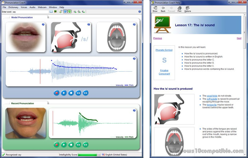 english pronunciation software free download for windows